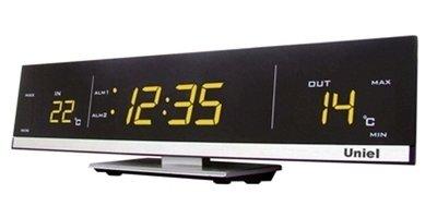 Часы без проекции Uniel UTV-41Y