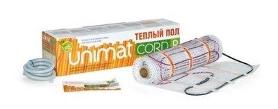 Нагревательный мат Unimat CORD P 140-0,5-5,0
