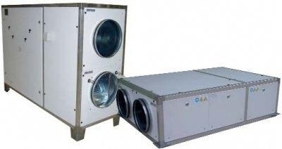 Приточновытяжная вентиляционная установка 500 м3ч Utek FAI DP 1 V
