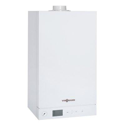 Настенный газовый котел Viessmann Vitodens 100-W, от 6,5-19кВт (WB1C102)