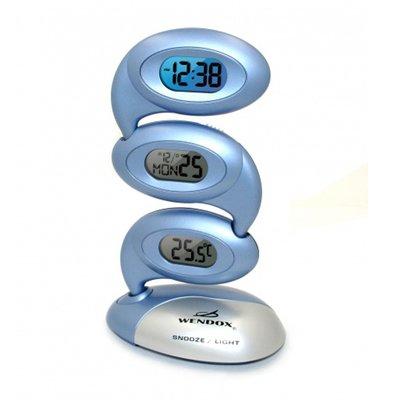 Часы без проекции Wendox W1810 серебристо-голубые