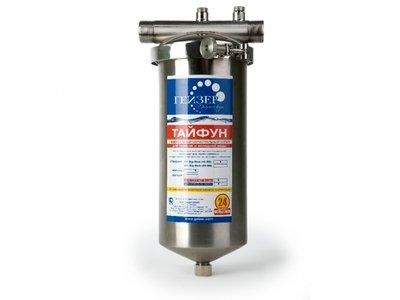 Магистральный фильтр для очистки воды Гейзер Тайфун 10SL 1/2