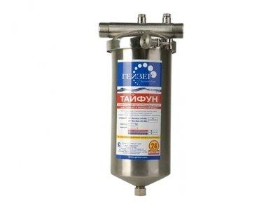 Магистральный фильтр для очистки воды Гейзер Тайфун 10ВВ
