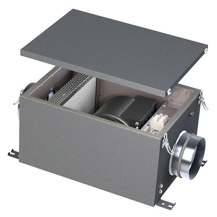 Компактная моноблочная приточная установка Тепломаш КЭВ-ПВУ105A фото