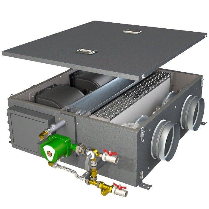 Компактная приточная установка с электрическим нагревателем Тепломаш КЭВ-ПВУ205Е фото
