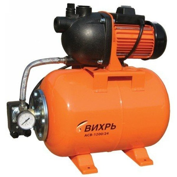 Купить Поверхностная насосная станция Вихрь АСВ-1200/24 в интернет магазине климатического оборудования
